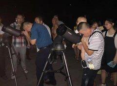 涪陵区科协开展暑期青少年天文观测活动