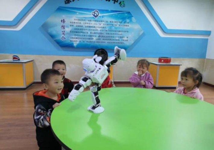 万盛经开区科协组织开展幼儿科普活动
