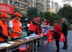 万盛经开区科协开展生活垃圾分类科普志愿服务活动