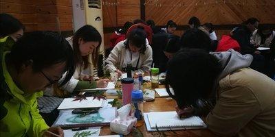 北碚区科普基地举办梦想课堂自然笔记大赛教师训练营活动