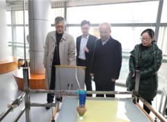 中国科协创新战略研究院一行调研重庆科技馆