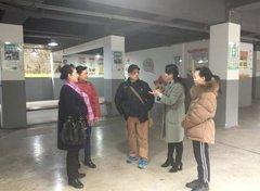江北区科协组织退休老干部参观 铁山坪街道唐桂社区科协建设工作