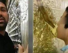 """疫情当前伊朗民众舔圣陵园大门和古墓称""""不怕病毒"""" 因宣传迷信被抓"""