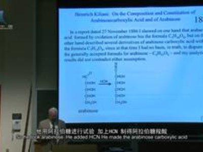 耶鲁:新生有机化学2-110葡萄糖构型证明及两种人工产物的合成(中)